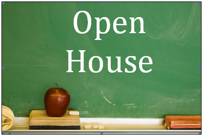 Open House – February 8th