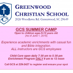 GCS Summer Camp