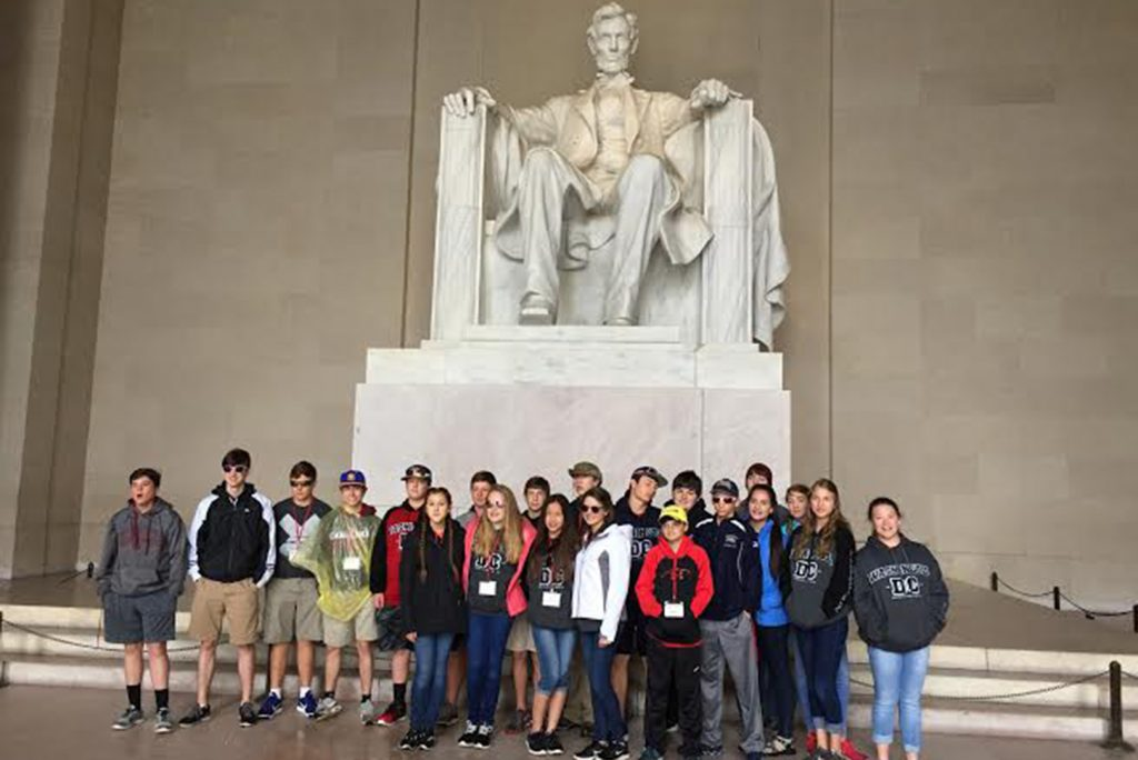 8th Grade Goes to DC