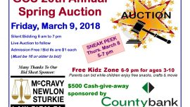 GCS 20th Annual Spring Auction