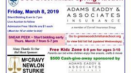 GCS 21st Annual Spring Auction