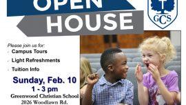 Open House – February 10