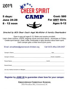 thumbnail of Camp – Cheer Spirit