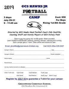 thumbnail of Camp – Hawks Jr. Football
