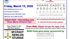 GCS 22nd Annual Spring Auction