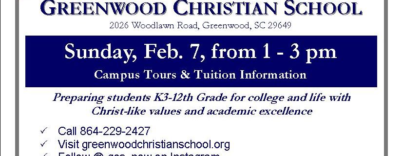 Open House – February 7th