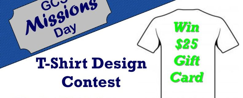 thumbnail of Missions Day Tshirt Contest